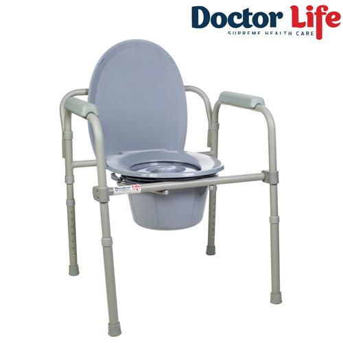 Стул-туалет складной Dr.Life арт. 12627