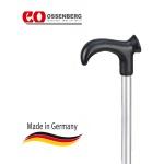 Трость телескопическая с твердой ручкой DERBY BASIC Ossenberg 505si